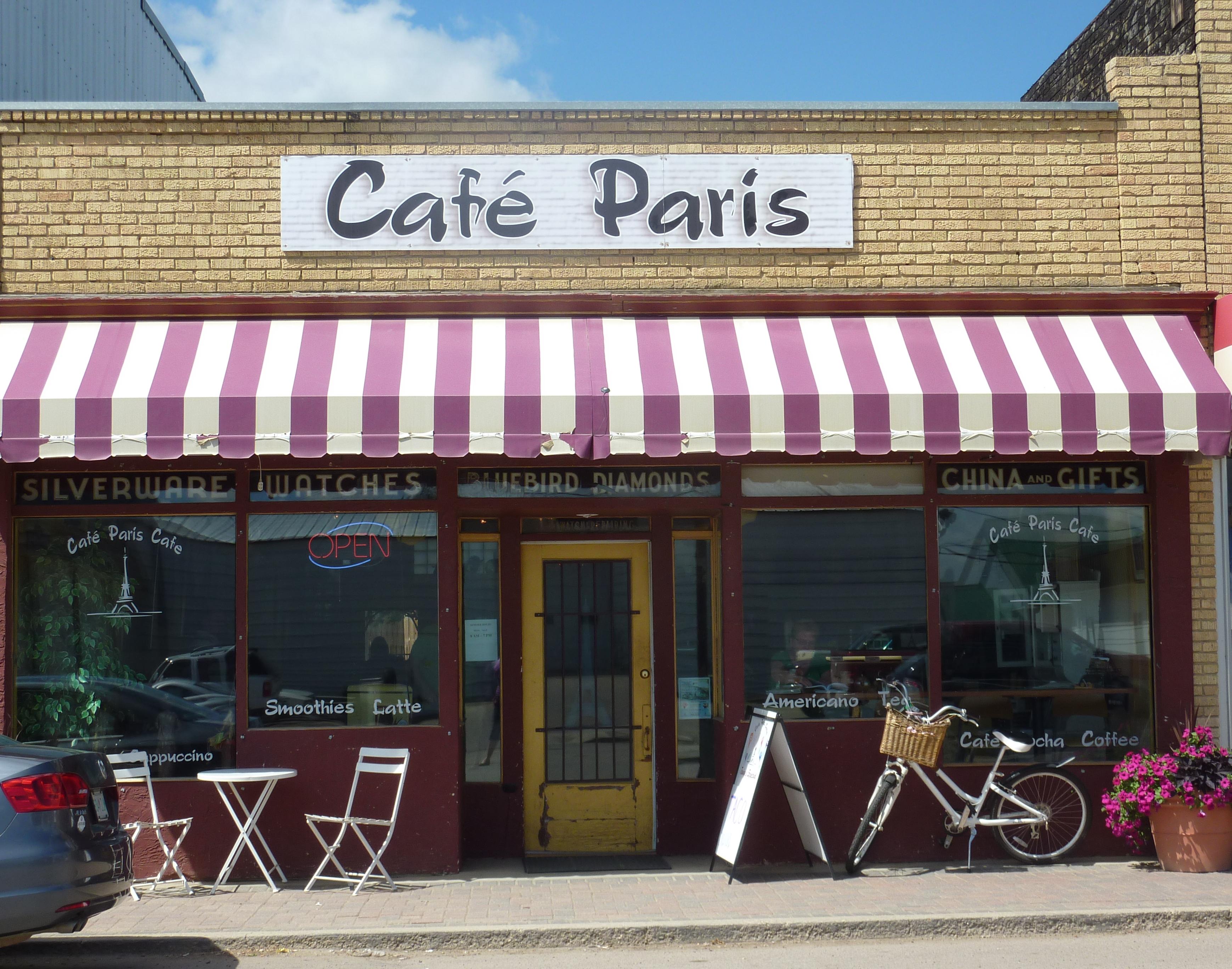 Cafe Paris Gravelbourg