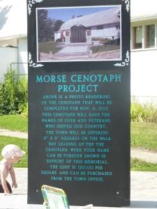 Morse Cenotaph