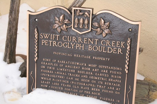 The Petroglyph of Swift Current