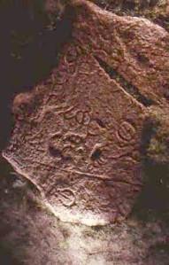 Petroglyph near Swift Current