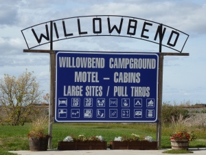 Willowbend Campground in Maple Creek