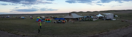 The Fenchman Valley Campground at Grasslands National Park